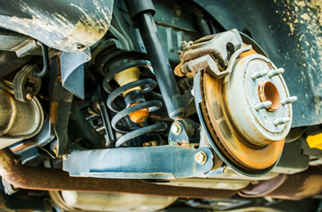 Vehicle Suspension Wear