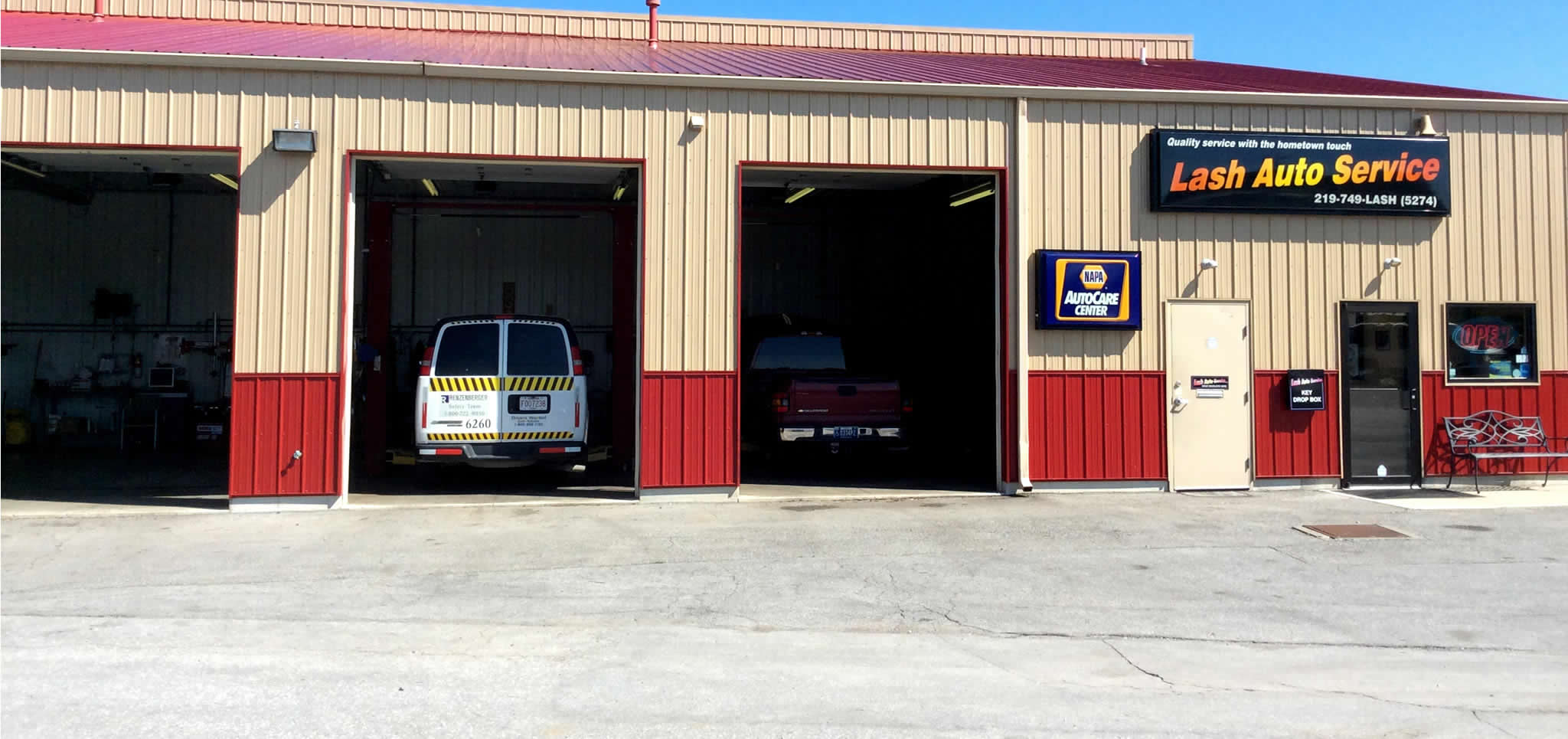 Auto Repair Service for Vehicles, Trucks and Fleet Service